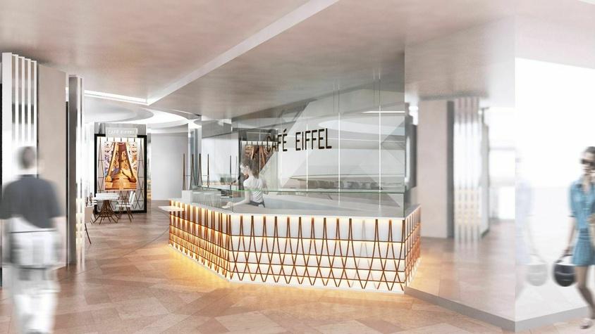 Café Eiffel – CDG