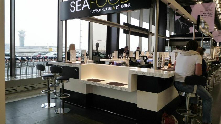 Seafood Bars Caviar House & Prunier Aéroports et Grands Magasins